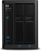 WD My Cloud Pro Series PR2100 0TB 2-bay NAS