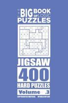 The Big Book of Logic Puzzles - Jigsaw 400 Hard (Volume 3)