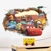 Muursticker Cars (film) 3D | kinderkamer - jongenskamer | cartoons - Pixar/Disney - tv/film