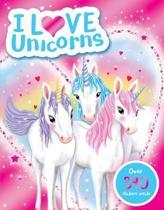 I Love Unicorns! Activity Book