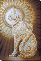 Borduurpakket kralen - KAT - ABRIS ART
