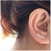 Ear Climber Triangle