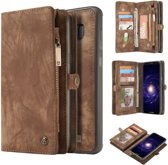 CaseMe Luxury Wallet Case Bruin Samsung Galaxy S8 Plus