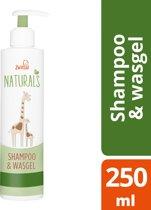 Zwitsal Naturals Shampoo & Wasgel - Baby - 250 ml