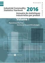 Industrial Commodity Statistics Yearbook 2016 (English/French Edition)