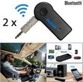 2 Stuks Wireless Bluetooth Audio Receiver | Draadloze Ontvanger voor Auto & Speaker