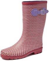 Boots Abby Rubber Rood Laarzen Dames