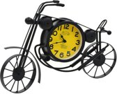 Klok motor fiets motorklok staande klok tafelklok staand klokje 44x7x33cm