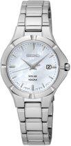 Seiko SUT293P1 horloge dames - zilver - edelstaal