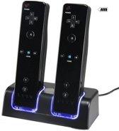 Dock Charger Station Voor De Nintendo Wii Controller - USB Docking Met Batterij Accu Pack - Op Laadstation