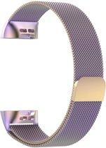 Milanees bandje Multicolor geschikt voor Fitbit Charge 3 - SmartphoneClip