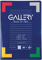 Gallery schrift formaat A4 geruit 5 mm 72 bladzijden