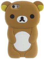GadgetBay 3D beertje hoesje iPhone 5 5s en SE Rilakkuma case