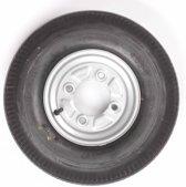 Vredestein wiel 4.00 - 8 4x115 335kg 6PR Naafdiameter 85 mm