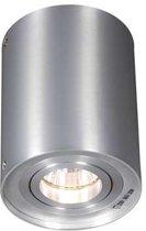 QAZQA Rondoo 1 - Plafond spot - 1 lichts - 95 mm - aluminium
