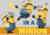 Minions - one in a minion - tapijt - 133x95 cm