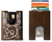 Walter Wallet X Nozzman Kunststof Creditcardhouder - RudeDolf/Paper Brown