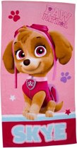 Paw Patrol Skye handdoek - roze - strandlaken 100% katoen