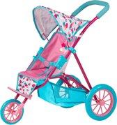 Baby Born Driewieler - Poppenwagen met Aanpasbare Kap