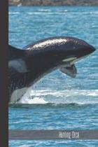 Hunting Orca: small lined Orca Notebook / Travel Journal to write in (6'' x 9'') 120 pages