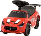Babymix Maserati Grancabrio Loopauto Rood
