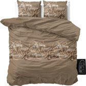 Sleeptime Royal Luxury - Dekbedovertrekset - Tweepersoons - 200x200/220 + 2 kussenslopen 60x70 - Taupe
