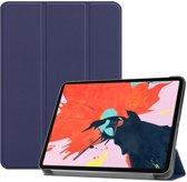 Apple iPad Pro 12.9 2018 hoesje - Smart Tri-Fold Case - blauw