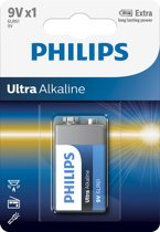 Philips Ultra Alkaline 9v