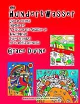 Amo Hundertwasser Libro de Colorear Inspirado Por El Estilo de Arte Fant stico de Hundertwasser Dibujos Originales Por El Artista Surrealista Grace Divine