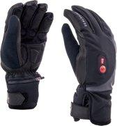 Sealskinz Cold Weather Heated Cycle Fietshandschoenen - Maat XL - Zwart/Rood
