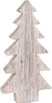 Houten kerstboom White Wash (75 cm)