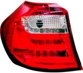 AutoStyle Set LED Achterlichten BMW 1-Serie E81/E87 3/5-deurs 2007-2011 - Rood/Helder
