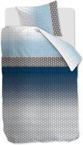 Beddinghouse Mare - Dekbedovertrek - Eenpersoons - 140x200/220 cm - Blauw
