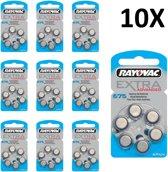 Rayovac 675 Extra Advanced gehoorapparaat batterijen - 10 x 6 stuks
