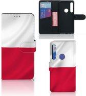 Bookstyle Case Motorola One Macro Polen