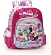 Disney - Minnie Mouse en Katrien Duck - Rugzak - 32 cm hoog - Roze