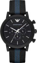 Emporio Armani Zwart Mannen Horloge AR1948