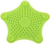 Gootsteenzeefje - Keukenafvoer zeef - Badkamer/douche zeef - Groen