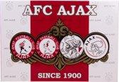 Ajax puzzel 4 logo's 1000 stukjes