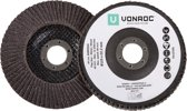 VONROC - Flap disc set 125mm 2 pc.