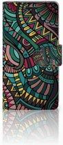 Sony Xperia E3 Bookcase Design Aztec