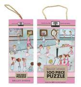Green Start Ballet Studio 100 Piece Puzzles
