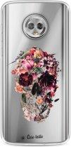 Casetastic Softcover Motorola Moto G6 - Transparent Skull