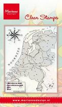 Clear Stamps Map of Holland