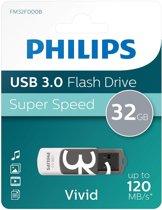 Philips FM32FD00B USB flash drive 32 GB USB Type-A 3.2 Gen 1 (3.1 Gen 1) Zwart, Wit