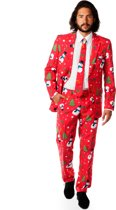 OppoSuits Christmaster - Kostuum - Maat 52