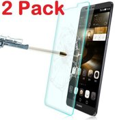 1 + 1 Gratis Huawei P9 Lite glazen Screen protector Tempered Glass 2.5D 9H (0.3mm) - Ntech