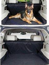 ForDig - Waterafstotende autohoes voor hond - Beschermhoes auto - Honden deken - Hondenkleed - Achterbank en Kofferbak - 125 x 144 cm zwart
