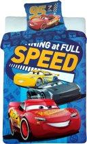 Disney Cars 3 - Speed - Dekbedovertrek - 140 x 200 - Blauw