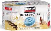 Rubson AERO 360 Navulling Vochtopnemer Vochtvanger Vochtwering - 4 pcs - Vanille